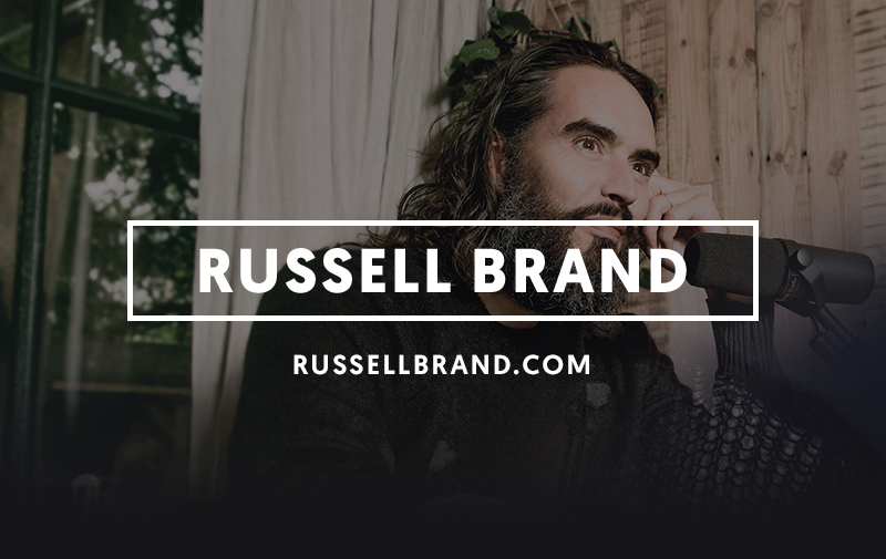 Russell Brand | Under The Skin | Official Site
